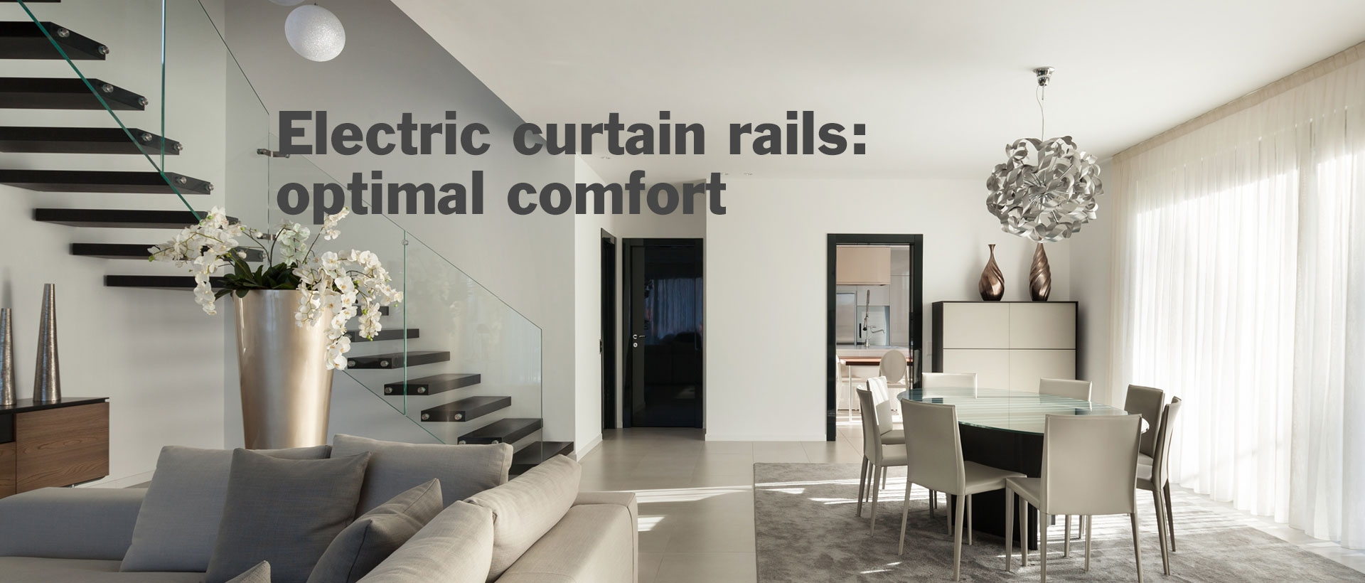 Electric curtain rails: ...